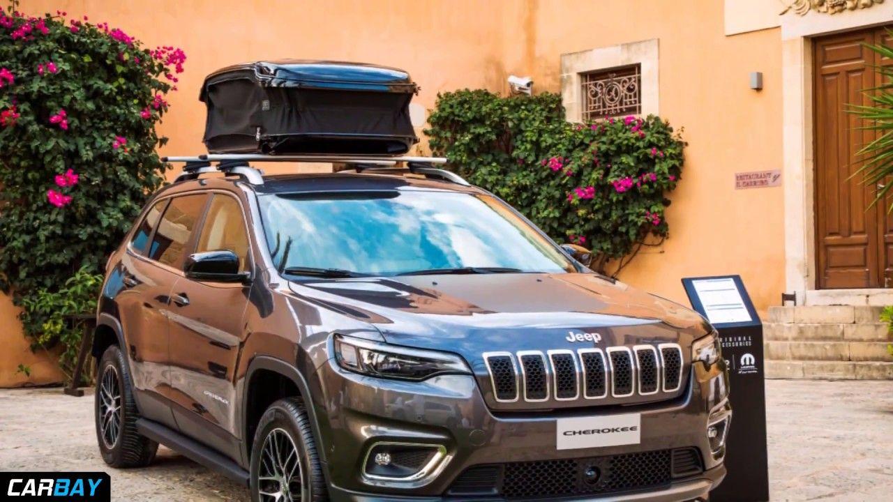 2019 Jeep Cherokee With Mopar Parts Jeep Cherokee Car Videos Jeep