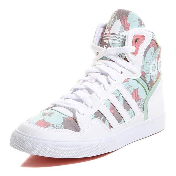 adidas donne extaball scarpe mai indossato, nuova, con scatola