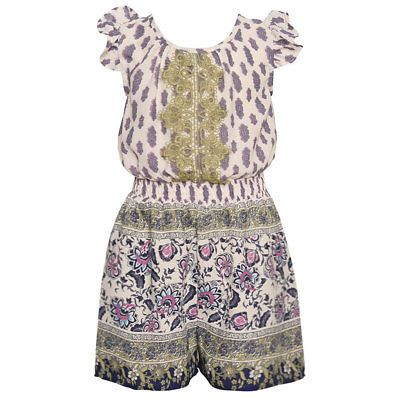 129f9bfabe81 Jumpsuits and Rompers 175528  Bonnie Jean Little Girls Navy Floral ...