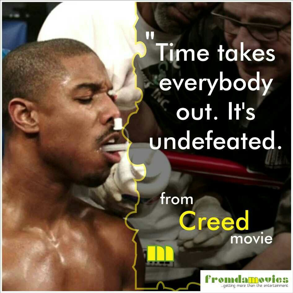 Wise words from 'Creed' movie. #fromdamovies # ...