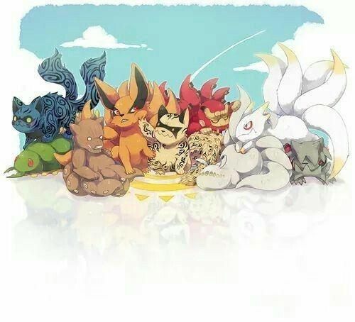 Tailed Beasts Wallpapers: Tailed Beasts, Bijuu, Cute, Chibi, Shukaku, Matatabi