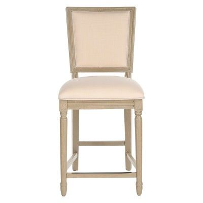 Groovy Set Of 2 Buchanan Counter Stool Light Beige Safavieh Unemploymentrelief Wooden Chair Designs For Living Room Unemploymentrelieforg