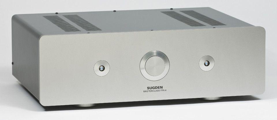 Sugden Masterclass FPA-4 er en ren forsterker som leverer 2 x 30 watt i ren klasse A.
