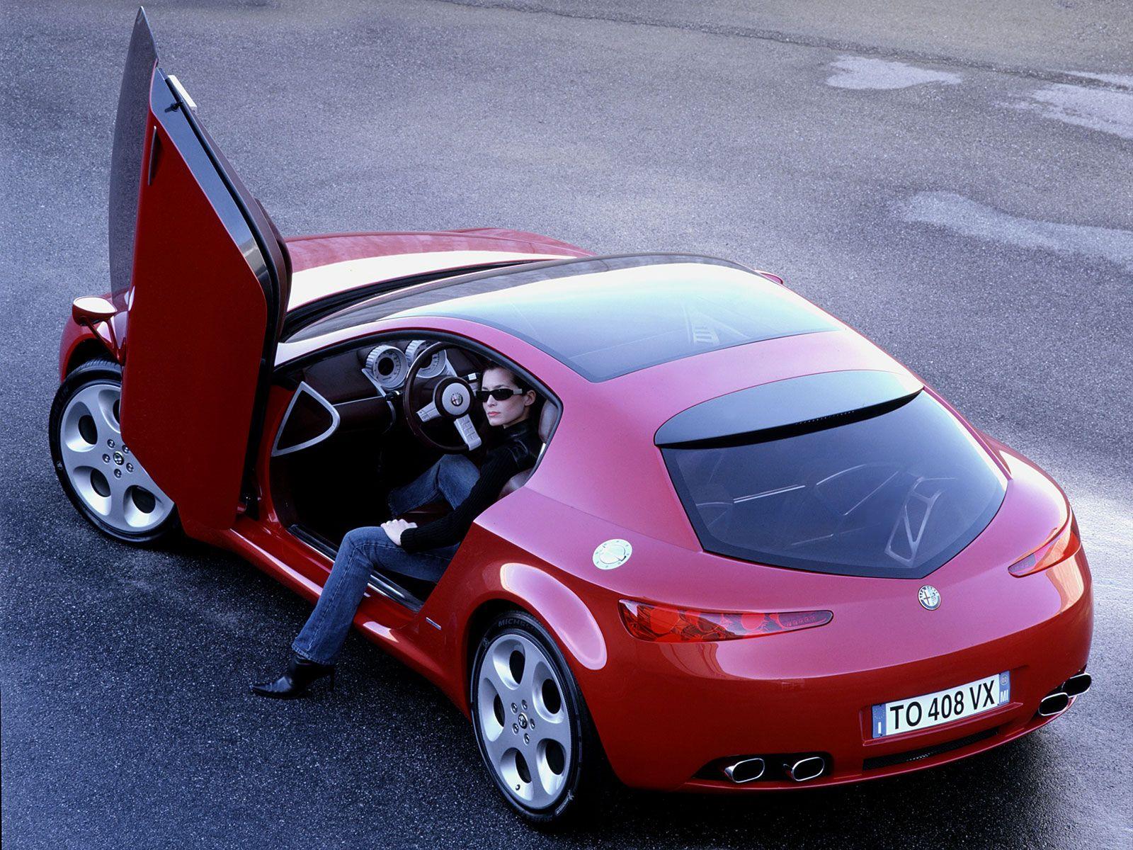 Les concepts ItalDesign Alfa Romeo Brera 2002