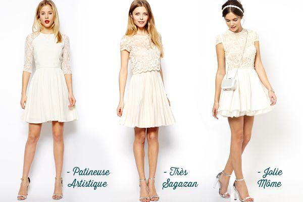 Accessoiriser une robe blanche pour un mariage
