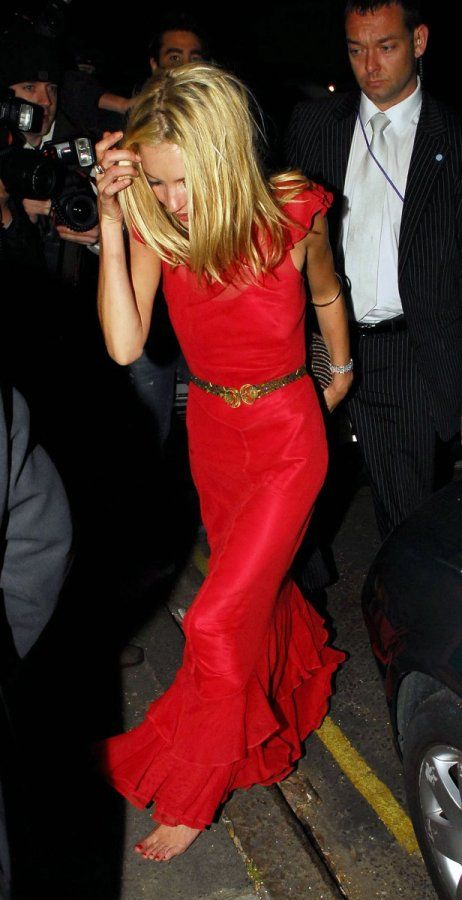 Kate Moss... Probably the most stylish woman I know of...