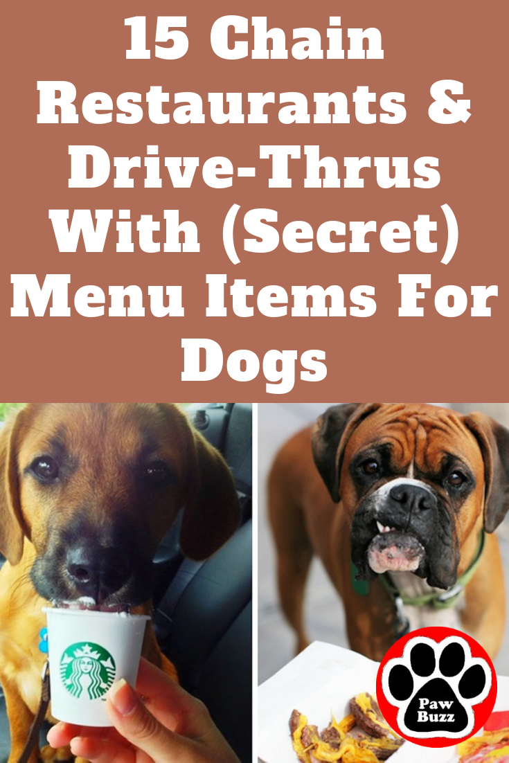 15 Chain Restaurants & Drive-Thrus With (Secret) Menu Items