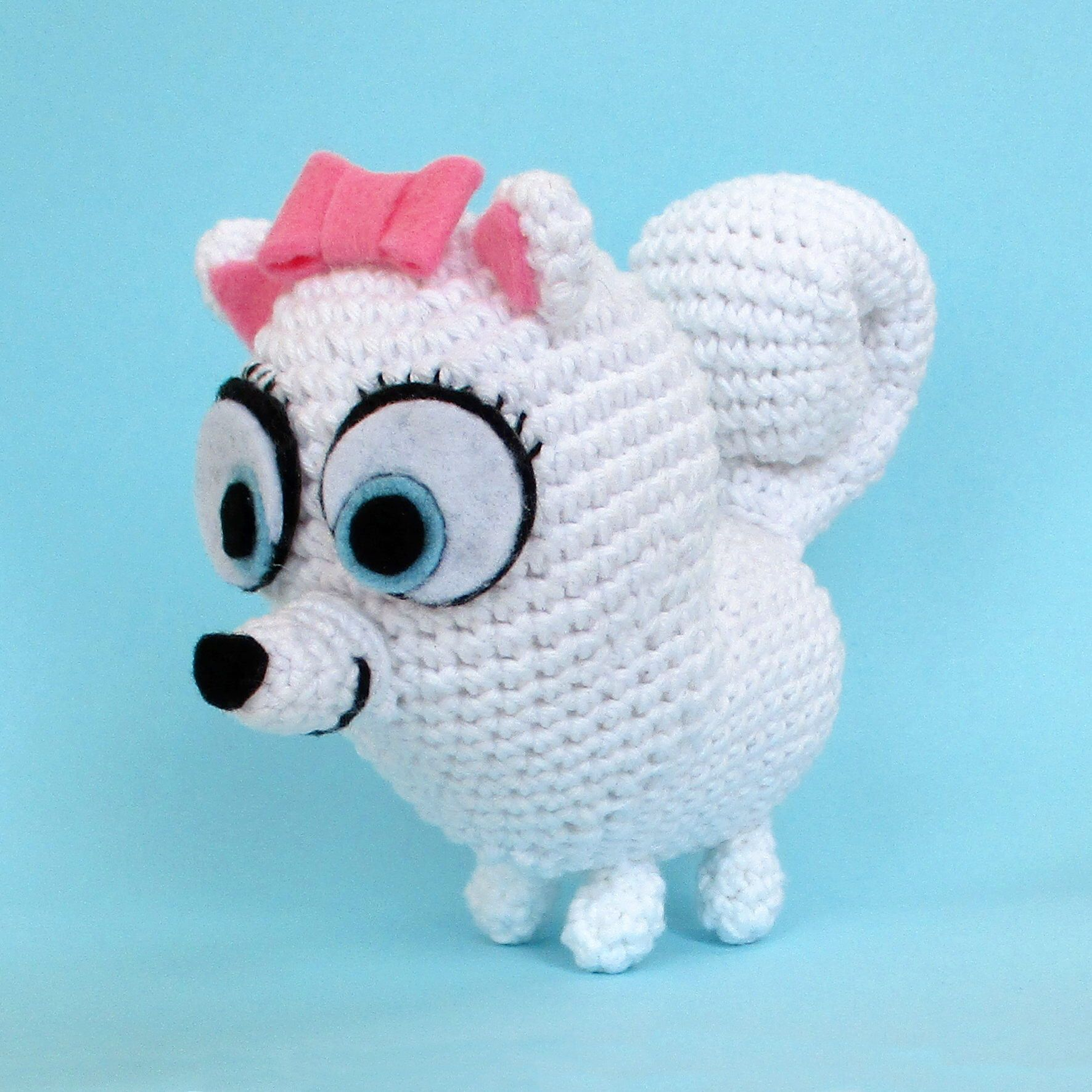 Gidget Amigurumi Crochet Pattern Secret Life Of Pets Crochet