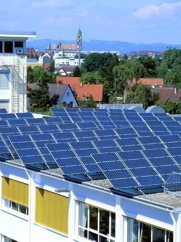 Photographic Print Rooftop Solar Panels Germany By Martin Bond 24x18in Solar Solar Panels Rooftop