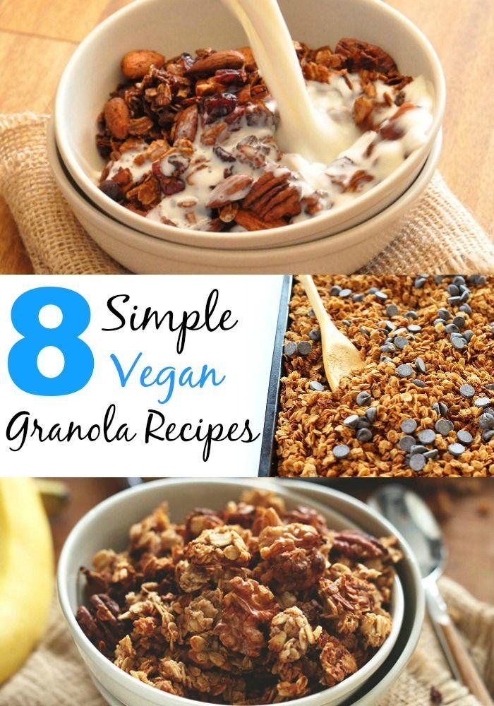 14 Simple Vegan Granola Recipes Minimalist Baker Vegan Granola Recipe Vegan Granola Granola Recipes