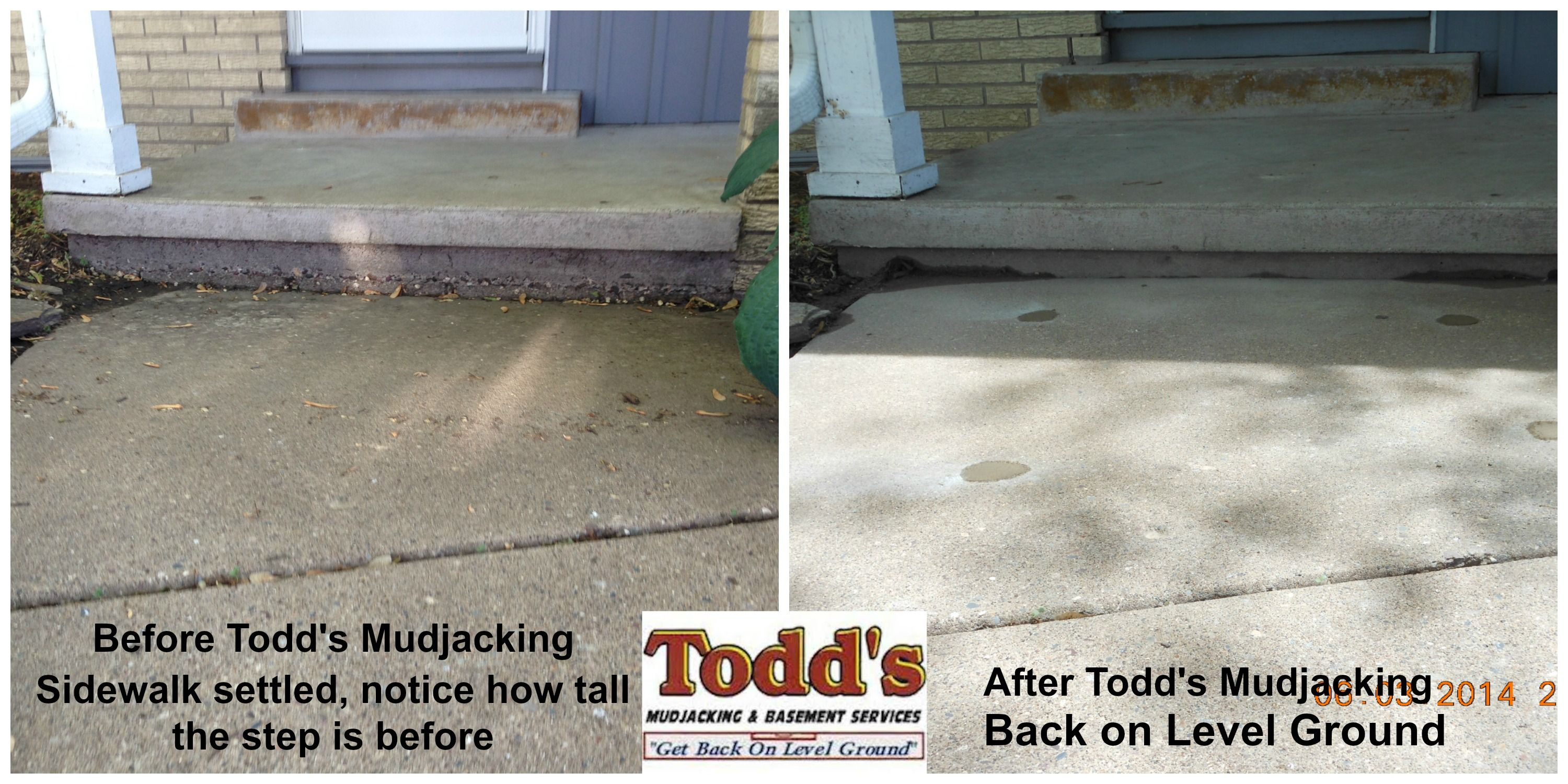 Pin by Todd's Mudjacking on Before and After | Saving money
