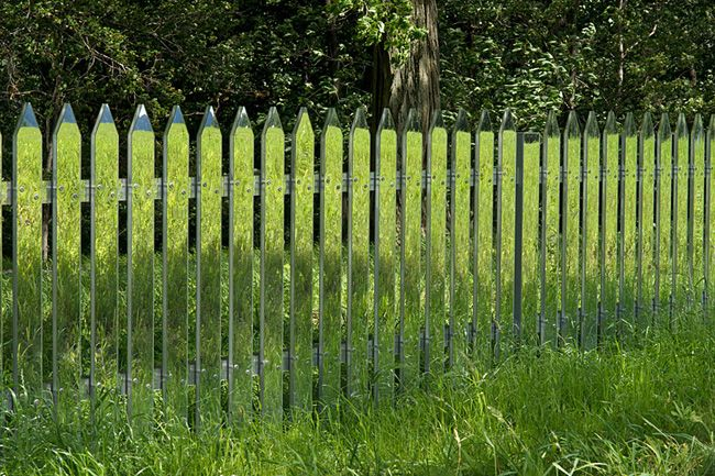mirror fence!