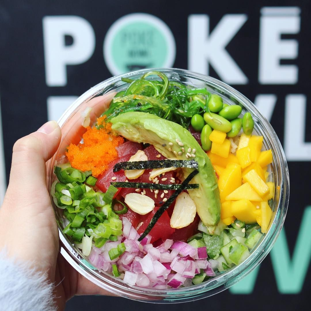 Poke Bowl; NYC | Cooking | Pinterest | Poke bowl, Bowls and Foods