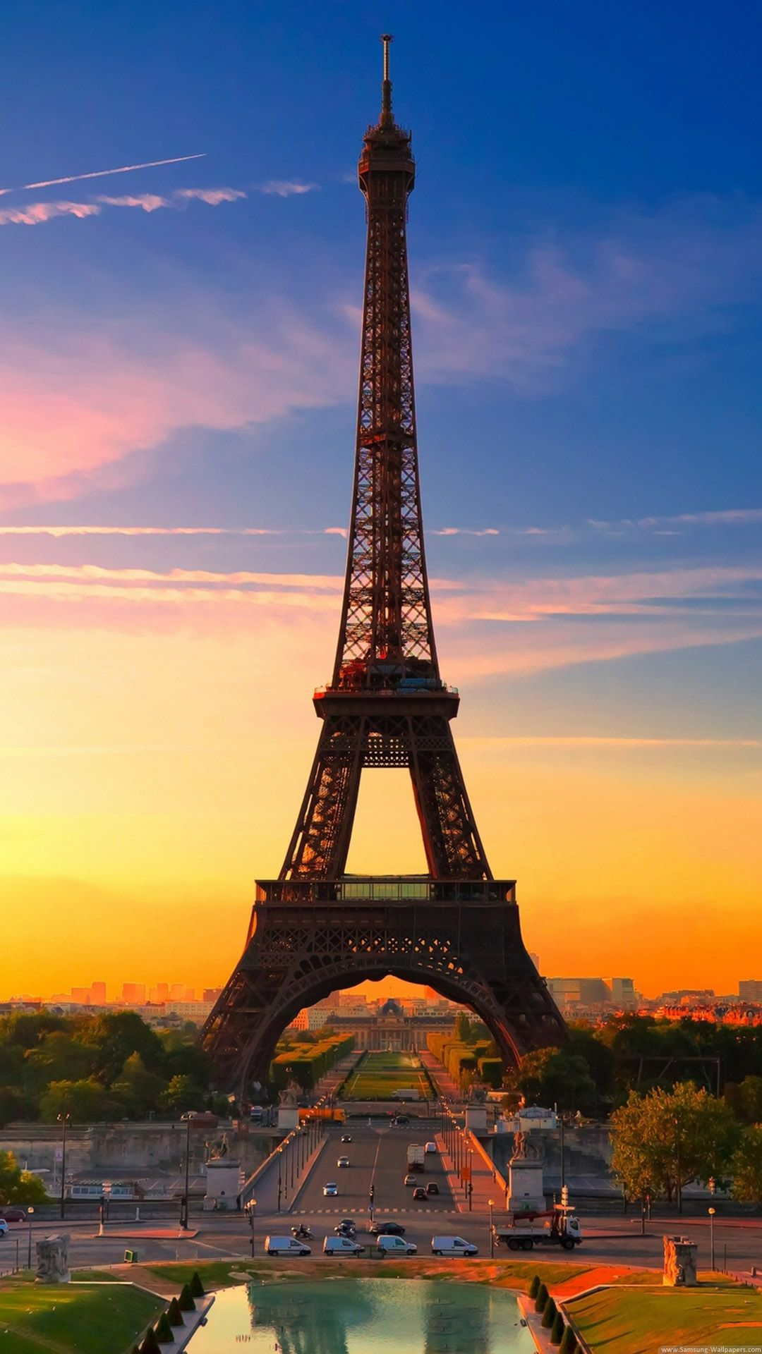 Sunrise in Paris, France (With images) Best wallpapers