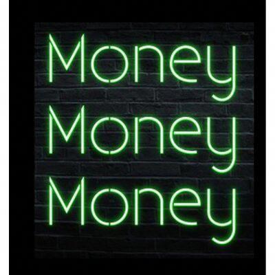 Latitude Run Money Money Money Neon Sign | Wayfair