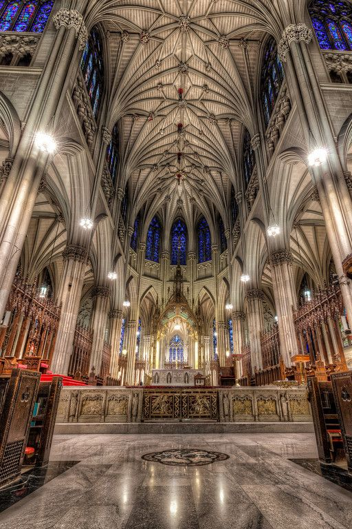 St Patricks Cathedral --- NYC THIS PLACE IS AMAZINGLY BEAUTIFUL!