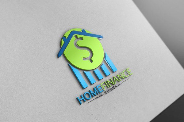 Home Finance Logo | Finance logo, Finance, Creative market