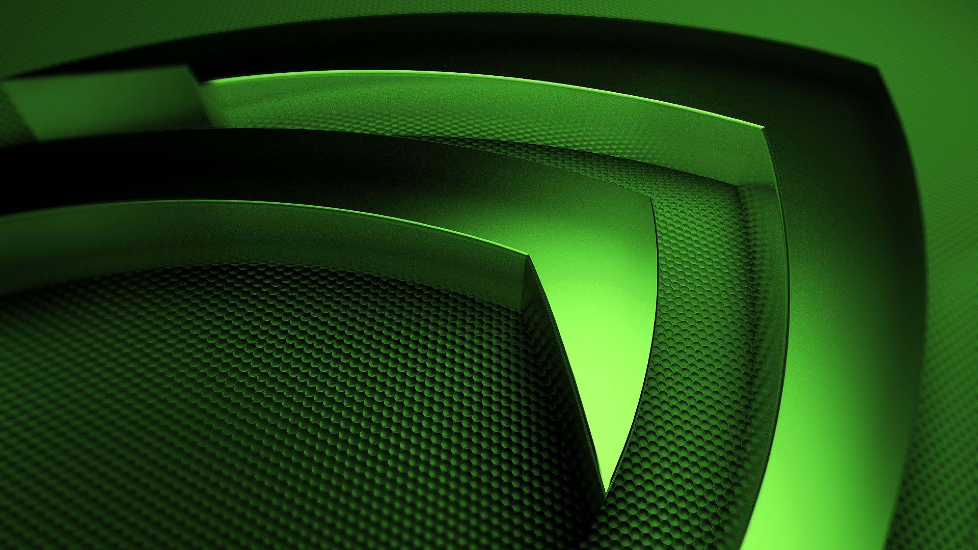 3840x2160 Wallpaper 3840x2160 Nvidia Green Symbol 4k Ultra Hd Hd Background September Wallpaper Computer Wallpaper Green Wallpaper