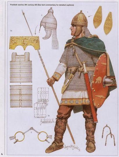 Graphic Firing Table: Battles Long Ago: Moussais-la-Bataille (Tours/Poitiers) 732