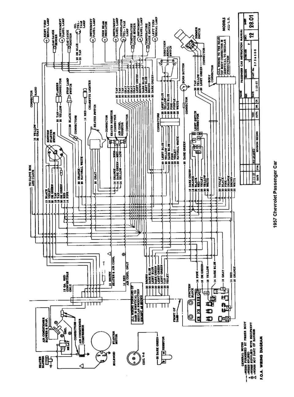 54 Chevy Wiring Diagram