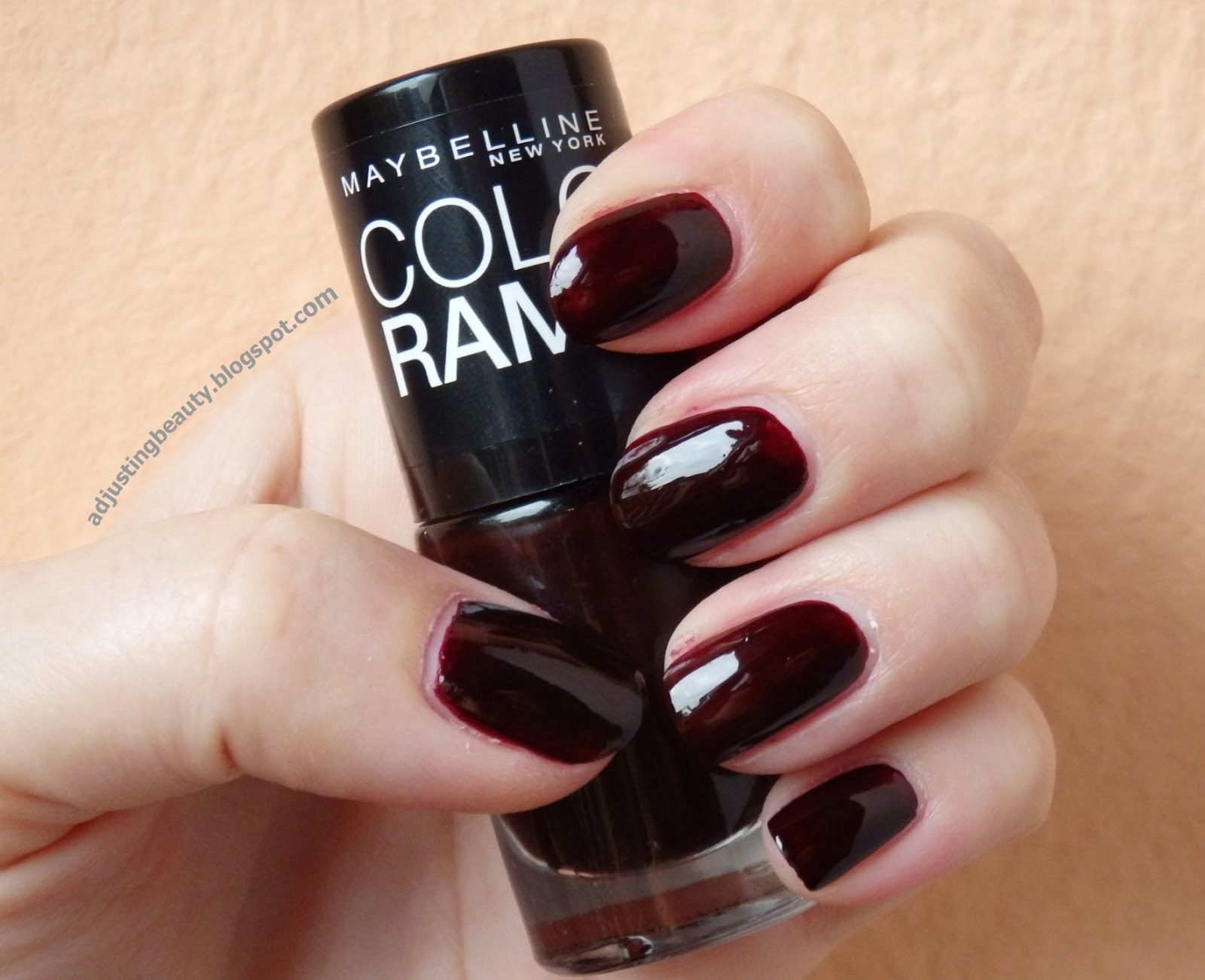 Review: Maybelline Colorama nail polish in 261 - Adjusting Beauty ...