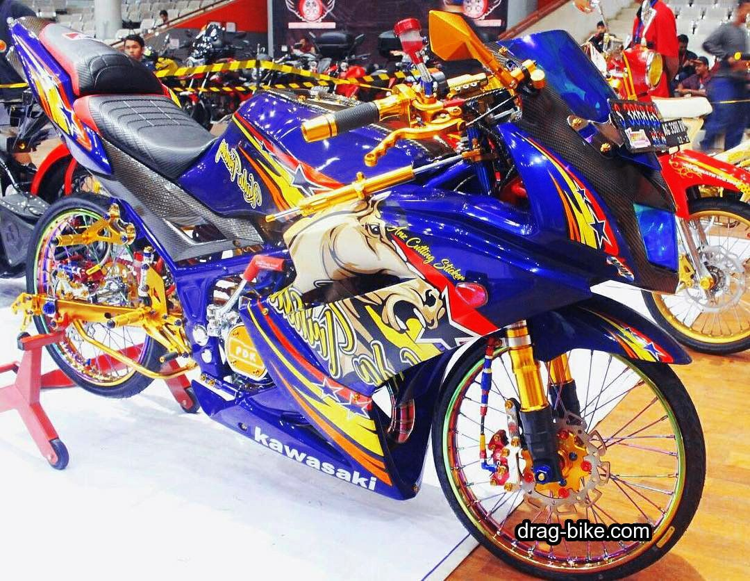 Gambar Motor Ninja Rr Modifikasi Ayam Jago Thailand Kawasaki