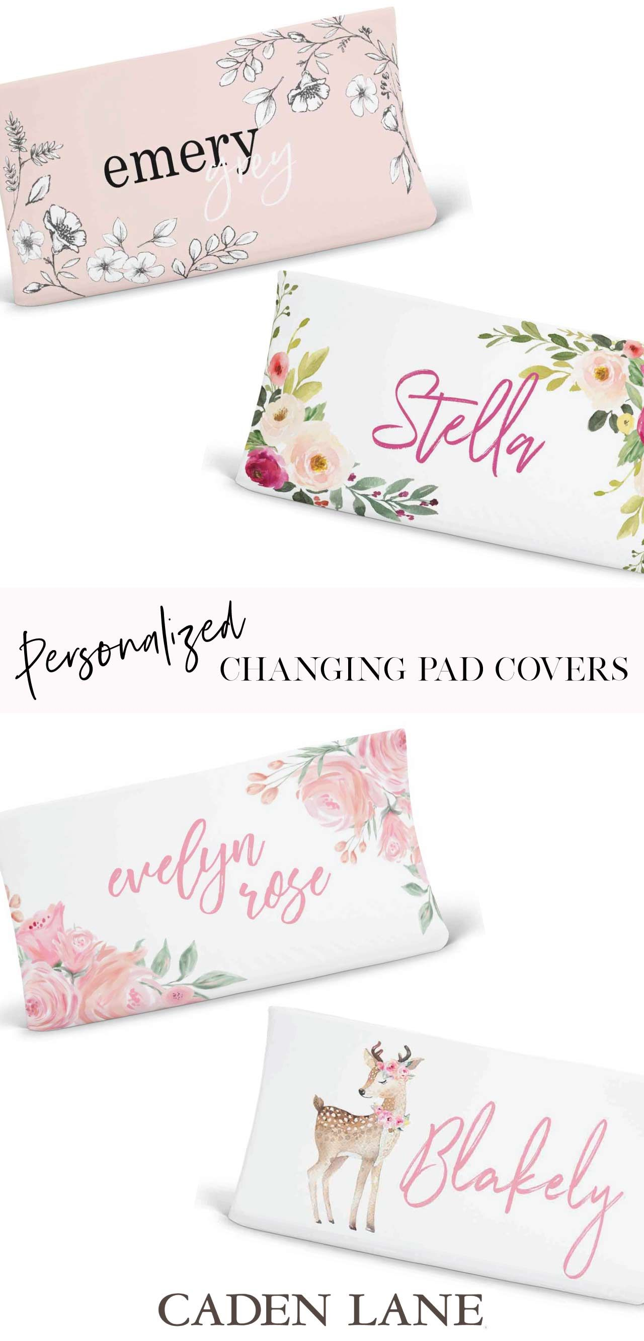 Bring some personalized style to your changing table with