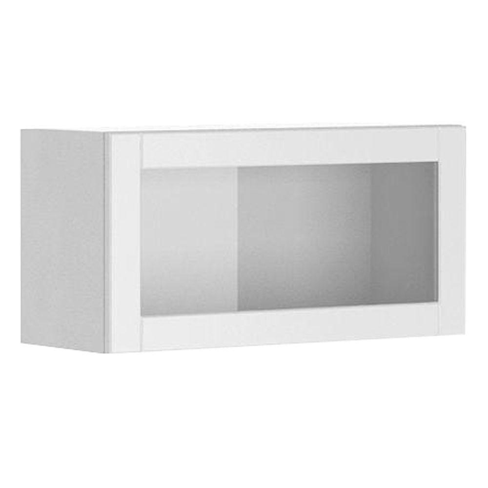 Glass Door Cabinet Hinges 30x15x125 In Amsterdam Wall Bridge Cabinet With Horizontal Hinge