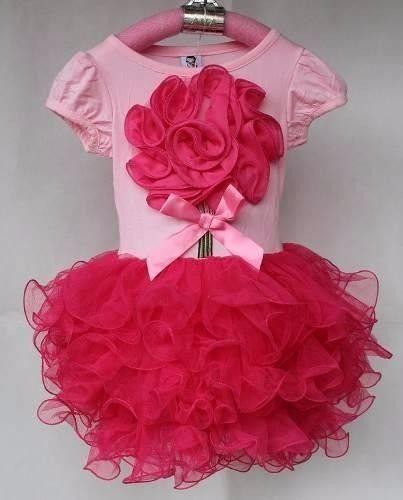 1e19dda337 Vestido Infantil Bailarina Ballet Tutu Festa Flor