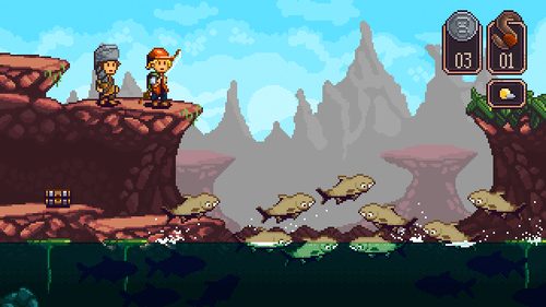 Mystic Lake (platformer) (created with Construct 2) http://mysticlakegame.tumblr.com/