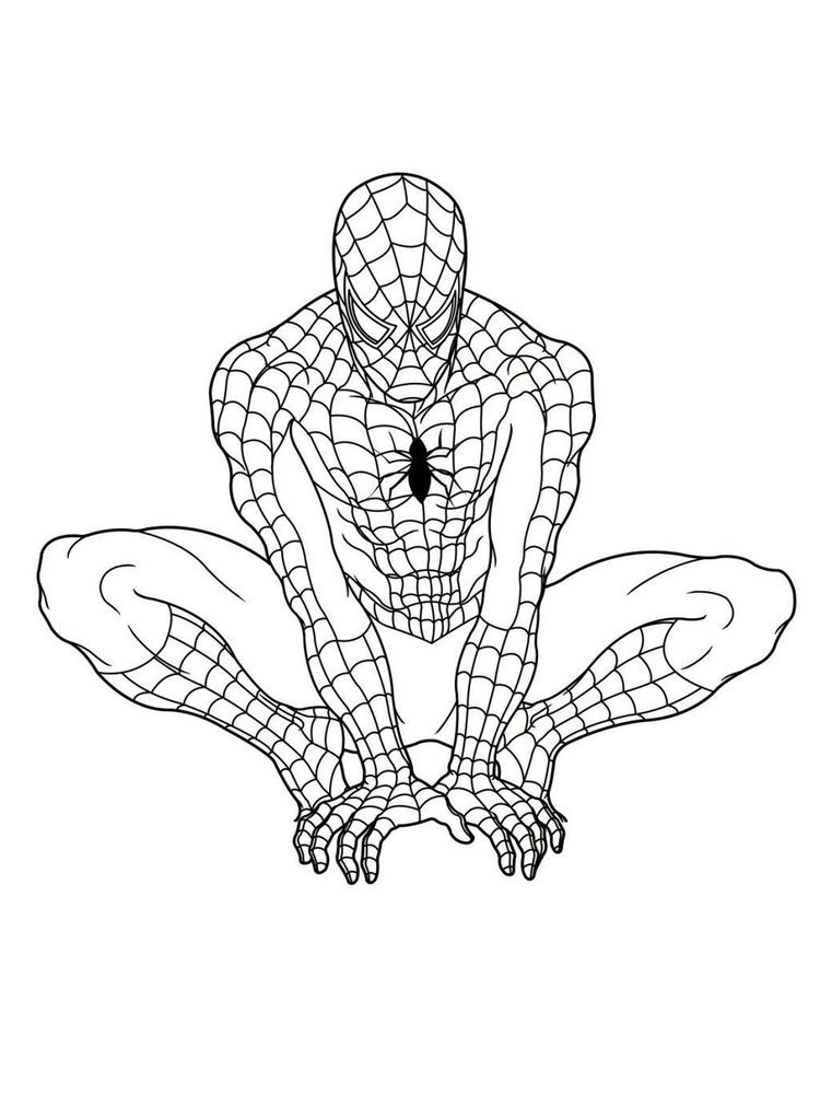 Free Printable Spiderman Coloring Pages Free Coloring Sheets In 2020 Superhero Coloring Pages Superhero Coloring Spiderman Coloring