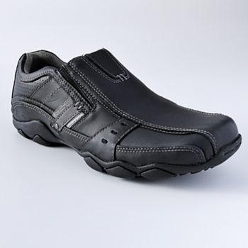 Skechers Fusion Slip On Shoes Men Slip On Shoes Shoes Mens Shoes