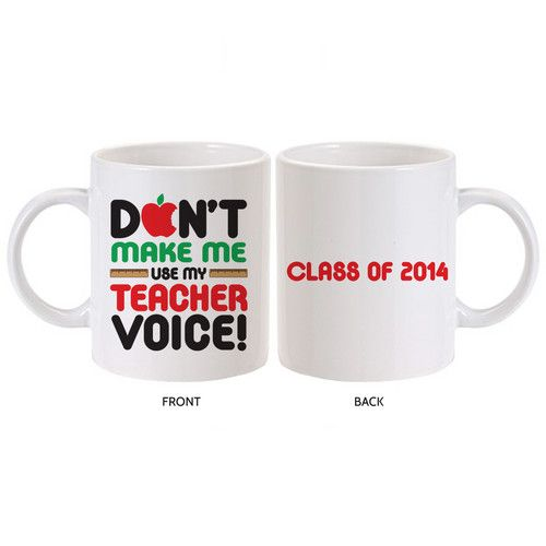 Teacher Voice Mug - Awesome Teacher Gift :)
