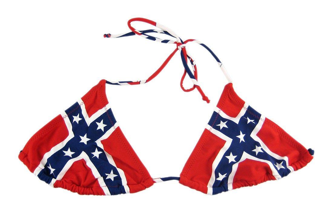 Reble flag bikini
