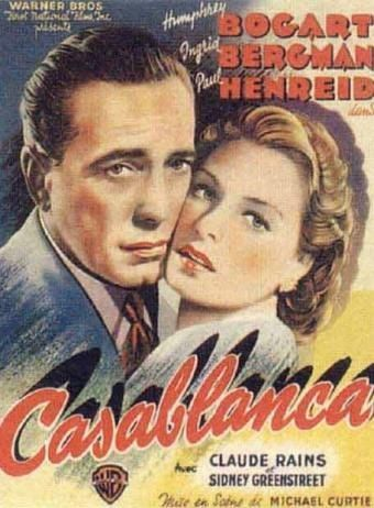 Casablanca, Movie Poster - Cross stitch pattern pdf format
