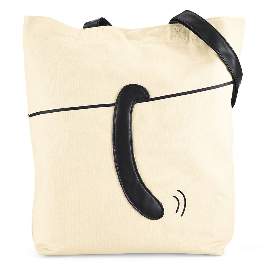 Peeking Cat Canvas Tote - General Store, Casual Clothing, Sweatshirts, Tops, Home Goods & Décor