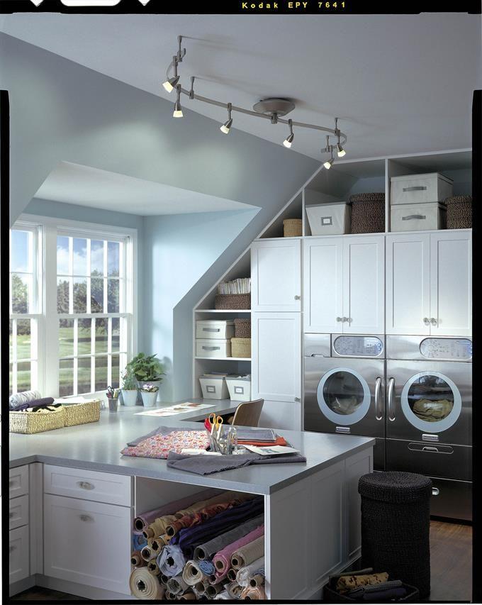 """Illuma Flex Track Lighting Installed In A Kitchen From: Illuma-Flex 12 Volt 3.5"""" Lamp Track Light, 144"""" Track"""