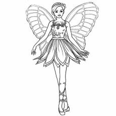 Marvelous Barbie Coloring Books