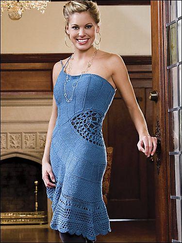 Ravelry: Ocean Vista Dress pattern by Andrea Graciarena