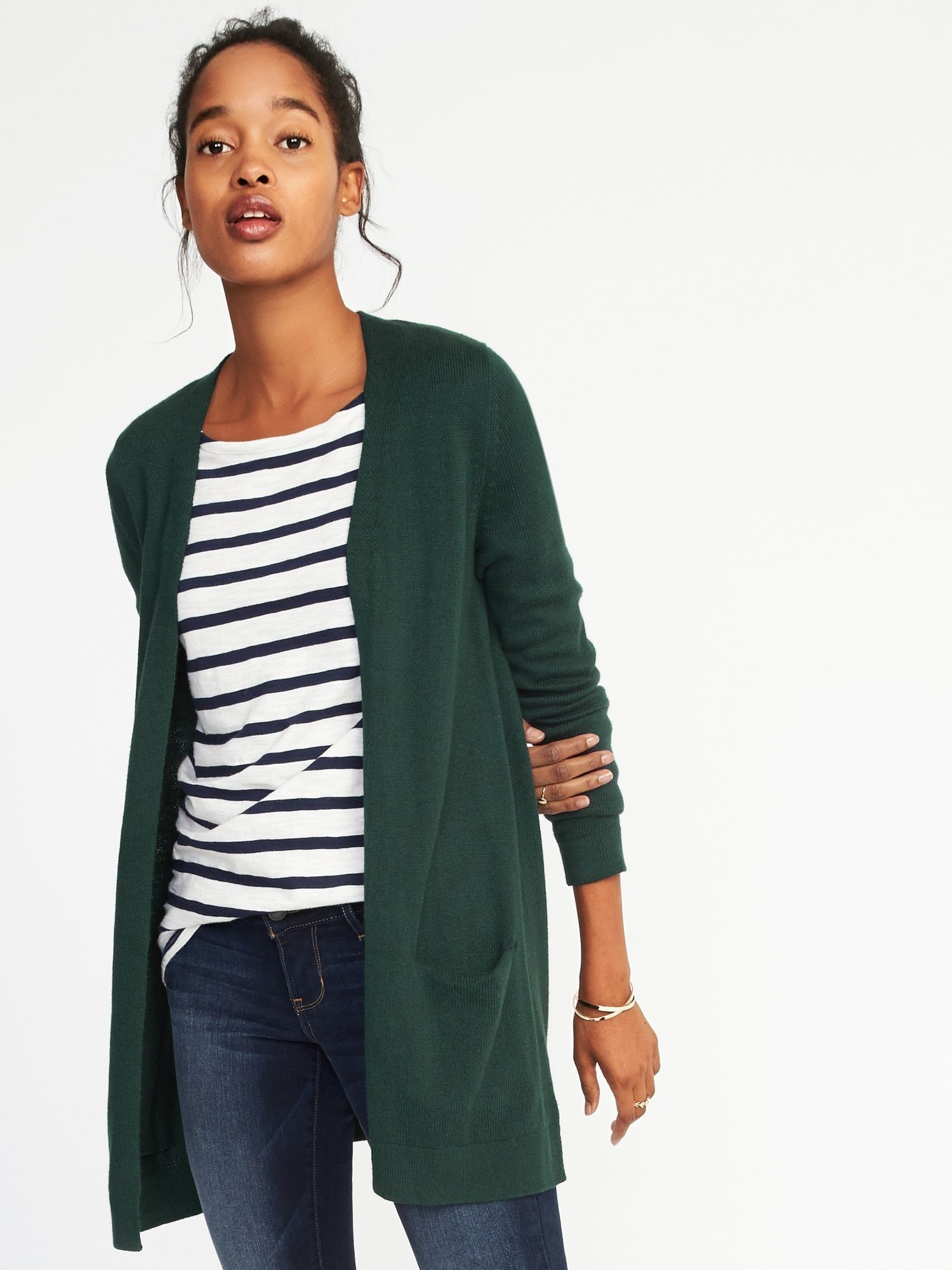 Cardigan for women navy sale long sweaters old india