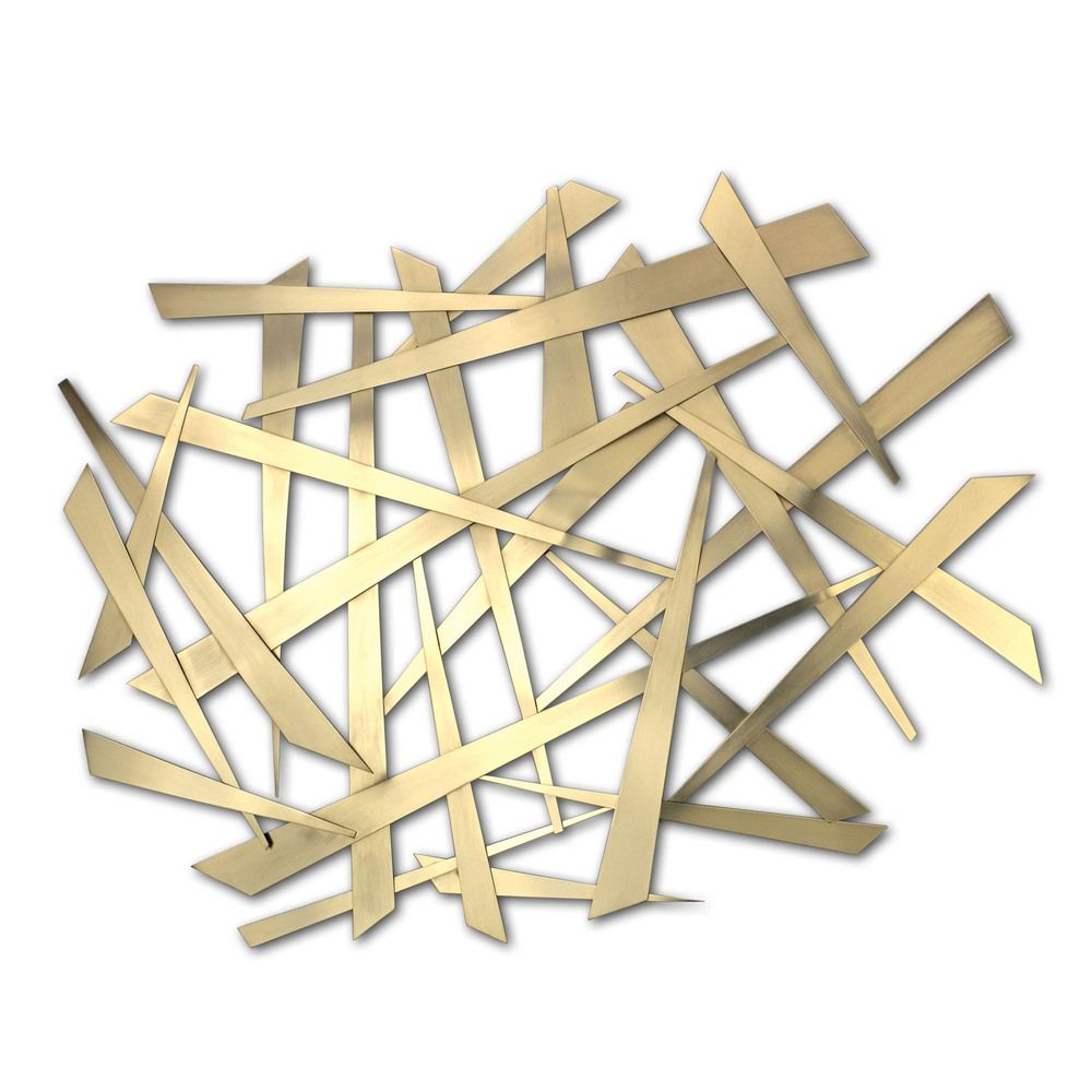 Criss Cross\' Metal Wall Art | Overstock.com | Art | Pinterest | Art ...
