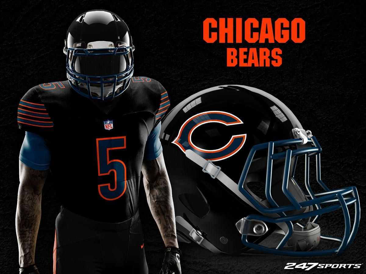 Blackout concept jersey 2018 chicago sports teams 32