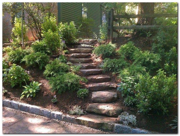 50 Awesome Backyard Landscaping Inspiration Sloped Backyard Landscaping Sloped Garden Pathway Landscaping