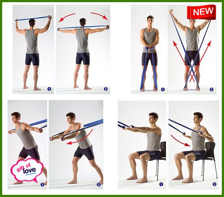 Stretch Band Exercises Workout