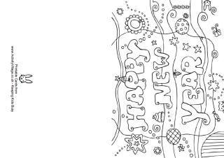 Gelukkig Nieuwjaar kleuren kaart | New year coloring pages ...