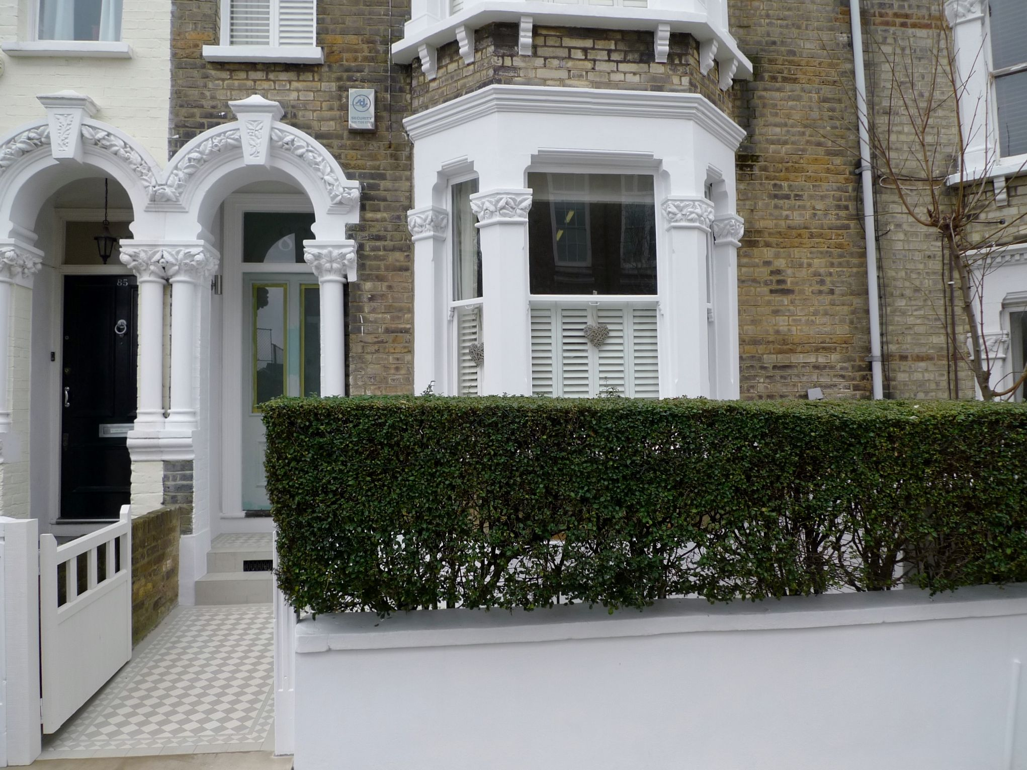 front garden design battersea clapham london - Front Garden Ideas London