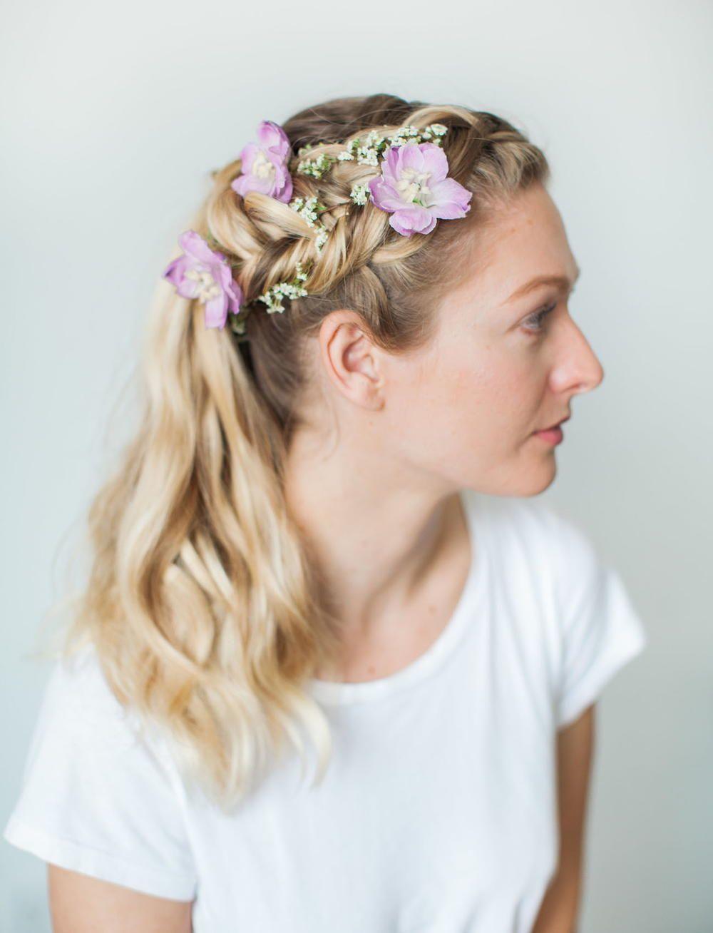 Flower princess wedding hair princess beautiful hairstyles and flower princess wedding hair izmirmasajfo Gallery
