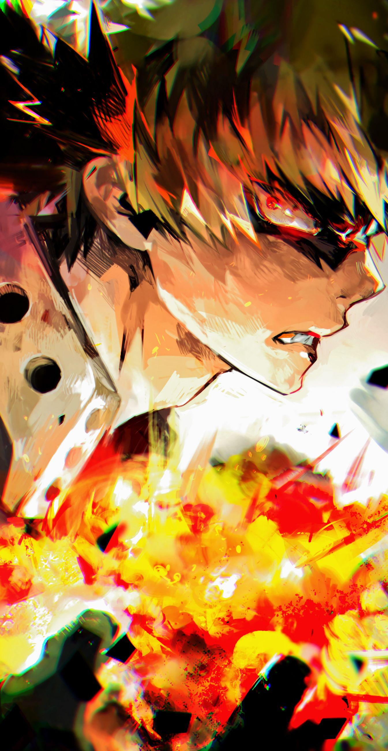 Katsuki Bakugo My Hero Academia fanart manga anime