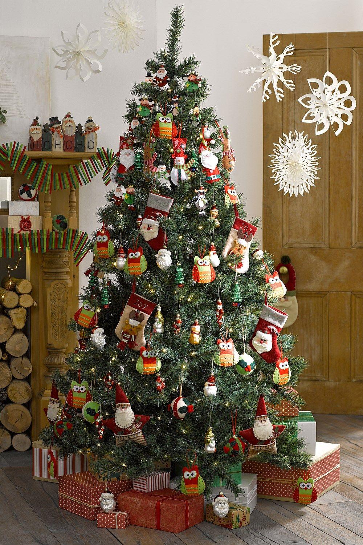 EziBuy Christmas Shop 6ft Prelit Christmas Tree EziBuy