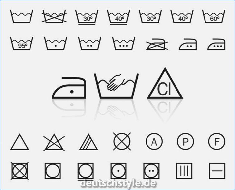 Bedeutung Erkennt Etiketten Ihrer Kleidung Symbole Laundry Care Symbols Washing Symbols Symbols